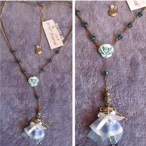 NWT✨ Betsey Johnson Lariat Skeleton Doll Necklace